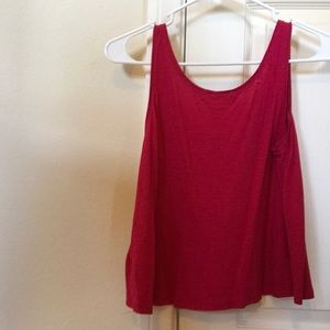 H&M Tops - Red tank top